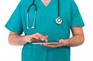 doctor on tablet_Insight Marketing Group_Marketing for Medical Practices