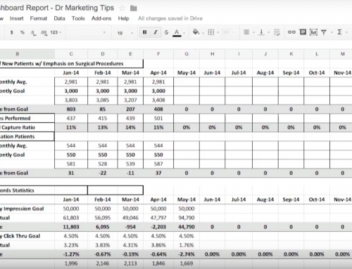 Tutorial | How to Set Up a Monthly Marketing Dashboard Report