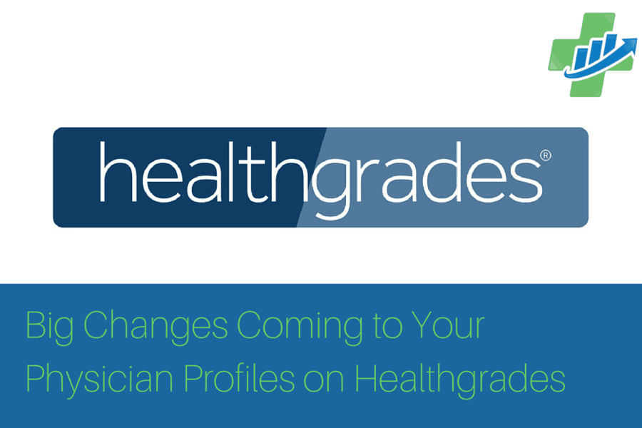 Big Healthgrades Changes
