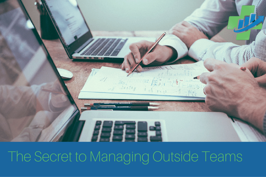 secret to managing outside teams