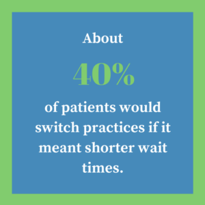 Patients switch practices