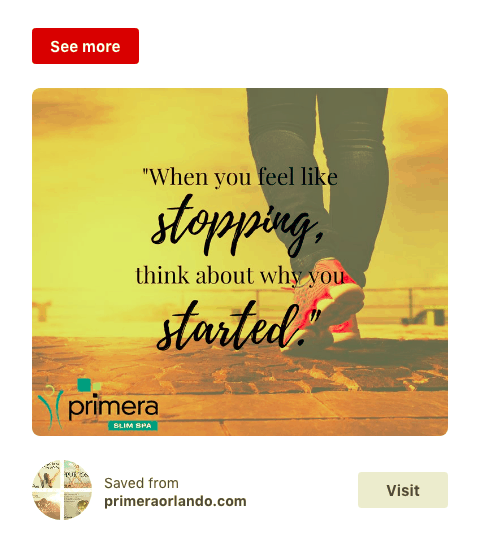 Primera Pinterest example