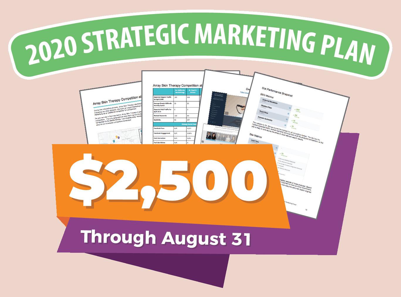 2020 Strategic Marketing Plan