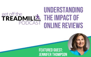 Jennifer Thompson Featured Guest on Get Off the Treadmill Podcast