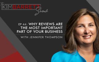 Jennifer Thompson on Kim Barrett Show