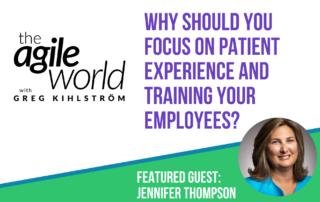 Jennifer thompson on Agile World